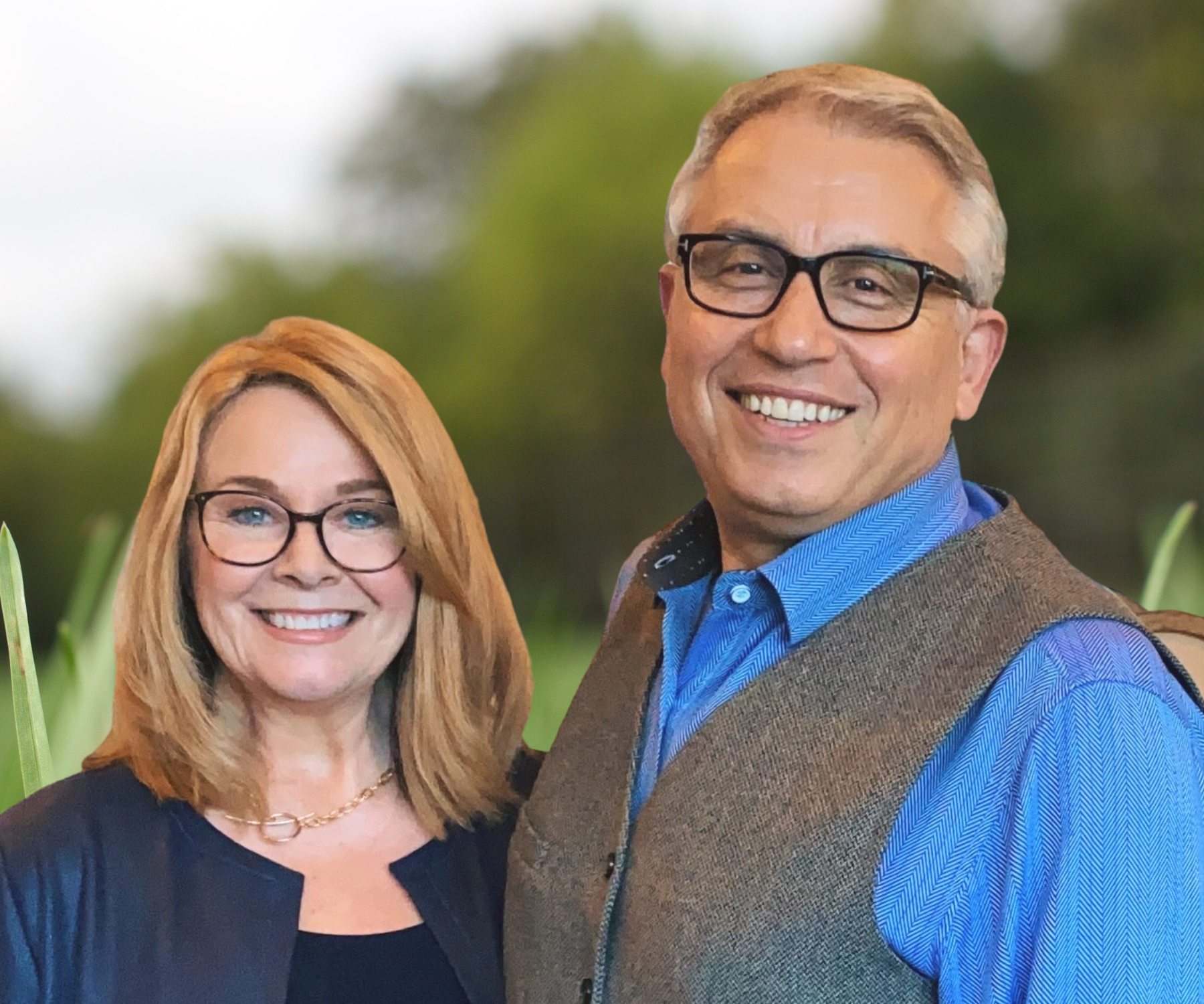 Founders Clay and Susan Allen